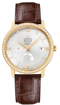 Omega De Ville Prestige Power Reserve Co-Axial Mens watch, model number - 424.58.40.21.52.001, discount price of £13,176.00 from The Watch Source