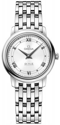 Buy this new Omega De Ville Prestige 27.4mm 424.10.27.60.04.001 ladies watch for the discount price of £1,755.00. UK Retailer.