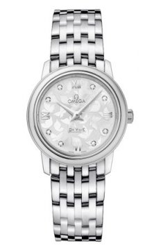 Omega De Ville Prestige 27.4mm Ladies watch, model number - 424.10.27.60.52.001, discount price of £1,705.00 from The Watch Source