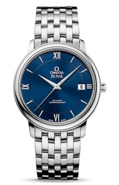 Omega De Ville Prestige Co-Axial 36.8 Midsize watch, model number - 424.10.37.20.03.001, discount price of £2,232.00 from The Watch Source