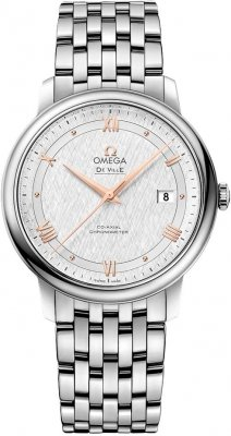 Buy this new Omega De Ville Prestige Co-Axial 39.5 424.10.40.20.02.004 mens watch for the discount price of £2,304.00. UK Retailer.