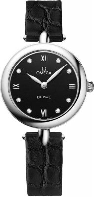 Buy this new Omega De Ville Prestige 27.4mm 424.13.27.60.51.001 ladies watch for the discount price of £1,872.00. UK Retailer.