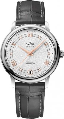 Buy this new Omega De Ville Prestige Co-Axial 32.7 424.13.33.20.52.001 ladies watch for the discount price of £2,376.00. UK Retailer.