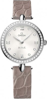 Buy this new Omega De Ville Prestige 27.4mm 424.18.27.60.52.001 ladies watch for the discount price of £5,895.00. UK Retailer.
