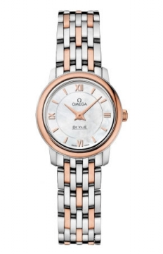 Omega De Ville Prestige 24.4mm Ladies watch, model number - 424.20.24.60.05.002, discount price of £2,584.00 from The Watch Source