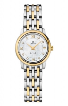 Omega De Ville Prestige 24.4mm Ladies watch, model number - 424.20.24.60.55.001, discount price of £2,952.00 from The Watch Source