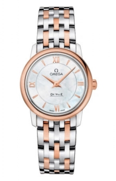 Buy this new Omega De Ville Prestige 27.4mm 424.20.27.60.05.002 ladies watch for the discount price of £3,132.00. UK Retailer.