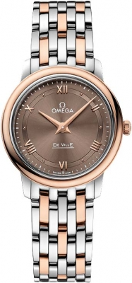 Buy this new Omega De Ville Prestige 27.4mm 424.20.27.60.13.001 ladies watch for the discount price of £3,555.00. UK Retailer.
