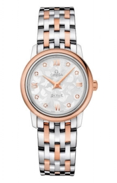 Omega De Ville Prestige 27.4mm Ladies watch, model number - 424.20.27.60.52.002, discount price of £3,420.00 from The Watch Source