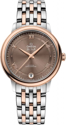 Buy this new Omega De Ville Prestige Co-Axial 32.7 424.20.33.20.13.001 ladies watch for the discount price of £3,924.00. UK Retailer.