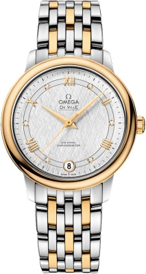 Buy this new Omega De Ville Prestige Co-Axial 32.7 424.20.33.20.52.001 ladies watch for the discount price of £5,103.00. UK Retailer.