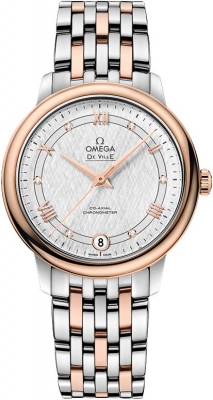 Buy this new Omega De Ville Prestige Co-Axial 32.7 424.20.33.20.52.002 ladies watch for the discount price of £4,284.00. UK Retailer.