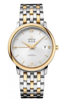 Omega De Ville Prestige Co-Axial 36.8 Midsize watch, model number - 424.20.37.20.02.001, discount price of £4,068.00 from The Watch Source
