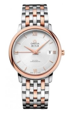 Omega De Ville Prestige Co-Axial 36.8 Midsize watch, model number - 424.20.37.20.02.002, discount price of £3,645.00 from The Watch Source