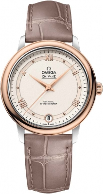Buy this new Omega De Ville Prestige Co-Axial 32.7 424.23.33.20.09.001 ladies watch for the discount price of £2,952.00. UK Retailer.
