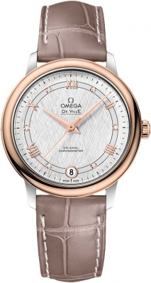 Buy this new Omega De Ville Prestige Co-Axial 32.7 424.23.33.20.52.002 ladies watch for the discount price of £3,312.00. UK Retailer.