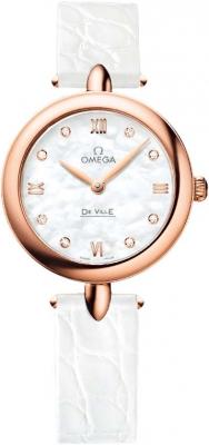 Buy this new Omega De Ville Prestige 27.4mm 424.53.27.60.55.002 ladies watch for the discount price of £5,688.00. UK Retailer.