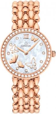 Buy this new Omega De Ville Prestige 27.4mm 424.55.27.60.55.003 ladies watch for the discount price of £17,208.00. UK Retailer.