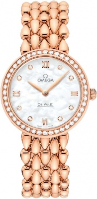 Buy this new Omega De Ville Prestige 27.4mm 424.55.27.60.55.004 ladies watch for the discount price of £15,048.00. UK Retailer.