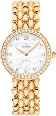 Buy this new Omega De Ville Prestige 27.4mm 424.55.27.60.55.006 ladies watch for the discount price of £15,048.00. UK Retailer.