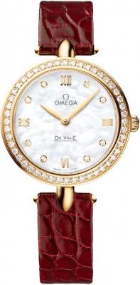 Buy this new Omega De Ville Prestige 27.4mm 424.58.27.60.55.001 ladies watch for the discount price of £8,640.00. UK Retailer.