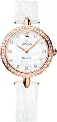Buy this new Omega De Ville Prestige 27.4mm 424.58.27.60.55.002 ladies watch for the discount price of £8,640.00. UK Retailer.
