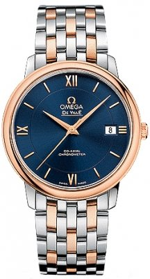 Buy this new Omega De Ville Prestige Co-Axial 36.8 424.20.37.20.03.002 midsize watch for the discount price of £4,851.00. UK Retailer.