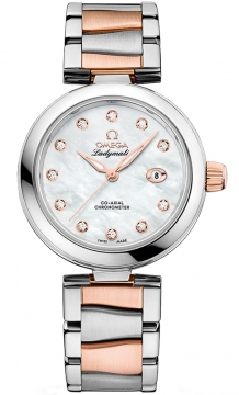 Buy this new Omega De Ville Ladymatic 34mm 425.20.34.20.55.004 ladies watch for the discount price of £9,540.00. UK Retailer.