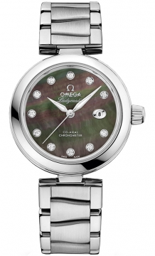 Buy this new Omega De Ville Ladymatic 34mm 425.30.34.20.57.004 ladies watch for the discount price of £5,112.00. UK Retailer.
