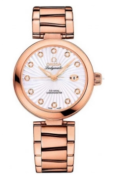 Buy this new Omega De Ville Ladymatic 34mm 425.60.34.20.55.001 ladies watch for the discount price of £16,796.00. UK Retailer.