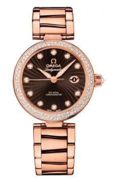 Omega De Ville Ladymatic 34mm Ladies watch, model number - 425.65.34.20.63.001, discount price of £21,615.00 from The Watch Source