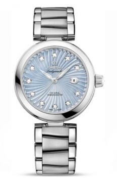 Omega De Ville Ladymatic 34mm Ladies watch, model number - 425.30.34.20.57.002, discount price of £4,580.00 from The Watch Source