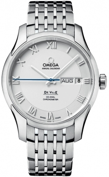 Omega De Ville Co-Axial Annual Calendar Mens watch, model number - 431.10.41.22.02.001, discount price of £5,940.00 from The Watch Source