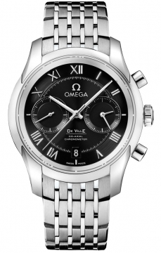 Buy this new Omega De Ville Co-Axial Chronograph 431.10.42.51.01.001 mens watch for the discount price of £5,400.00. UK Retailer.
