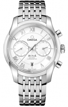 Buy this new Omega De Ville Co-Axial Chronograph 431.10.42.51.02.001 mens watch for the discount price of £6,273.00. UK Retailer.