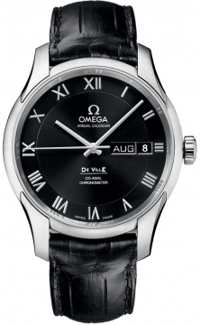 Omega De Ville Co-Axial Annual Calendar Mens watch, model number - 431.13.41.22.01.001, discount price of £5,832.00 from The Watch Source
