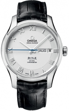 Omega De Ville Co-Axial Annual Calendar Mens watch, model number - 431.13.41.22.02.001, discount price of £5,832.00 from The Watch Source