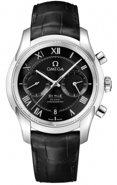 Buy this new Omega De Ville Co-Axial Chronograph 431.13.42.51.01.001 mens watch for the discount price of £4,968.00. UK Retailer.