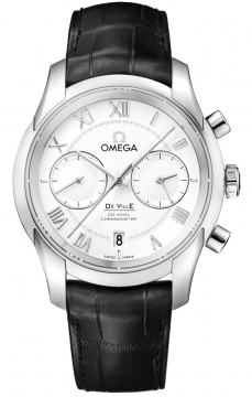 Buy this new Omega De Ville Co-Axial Chronograph 431.13.42.51.02.001 mens watch for the discount price of £5,778.00. UK Retailer.