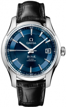 Omega De Ville Hour Vision Mens watch, model number - 431.33.41.21.03.001, discount price of £4,095.00 from The Watch Source