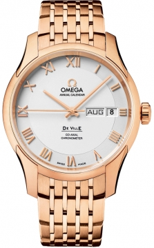 Omega De Ville Co-Axial Annual Calendar Mens watch, model number - 431.50.41.22.02.001, discount price of £20,250.00 from The Watch Source