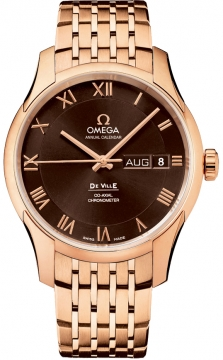 Omega De Ville Co-Axial Annual Calendar Mens watch, model number - 431.50.41.22.13.001, discount price of £20,250.00 from The Watch Source