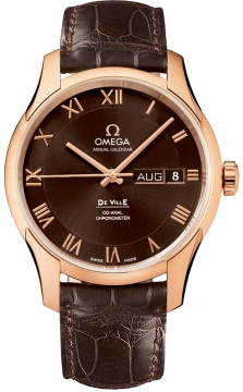 Omega De Ville Co-Axial Annual Calendar Mens watch, model number - 431.53.41.22.13.001, discount price of £12,060.00 from The Watch Source