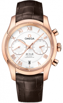 Buy this new Omega De Ville Co-Axial Chronograph 431.53.42.51.02.001 mens watch for the discount price of £19,166.00. UK Retailer.