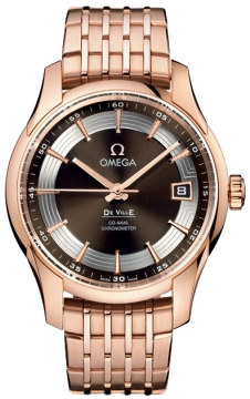 Omega De Ville Hour Vision Mens watch, model number - 431.60.41.21.13.001, discount price of £18,290.00 from The Watch Source