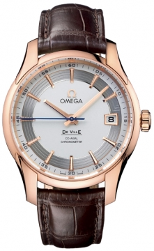 Omega De Ville Hour Vision Mens watch, model number - 431.63.41.21.02.001, discount price of £10,480.00 from The Watch Source