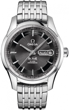 Omega De Ville Hour Vision Annual Calendar Mens watch, model number - 431.30.41.22.06.001, discount price of £6,489.00 from The Watch Source