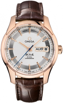Omega De Ville Hour Vision Annual Calendar Mens watch, model number - 431.63.41.22.02.001, discount price of £14,400.00 from The Watch Source