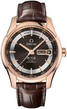 Omega De Ville Hour Vision Annual Calendar Mens watch, model number - 431.63.41.22.13.001, discount price of £12,900.00 from The Watch Source