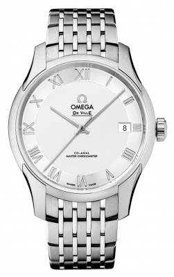 Buy this new Omega De Ville Hour Vision Co-Axial Master Chronometer 41mm 433.10.41.21.02.001 mens watch for the discount price of £4,464.00. UK Retailer.